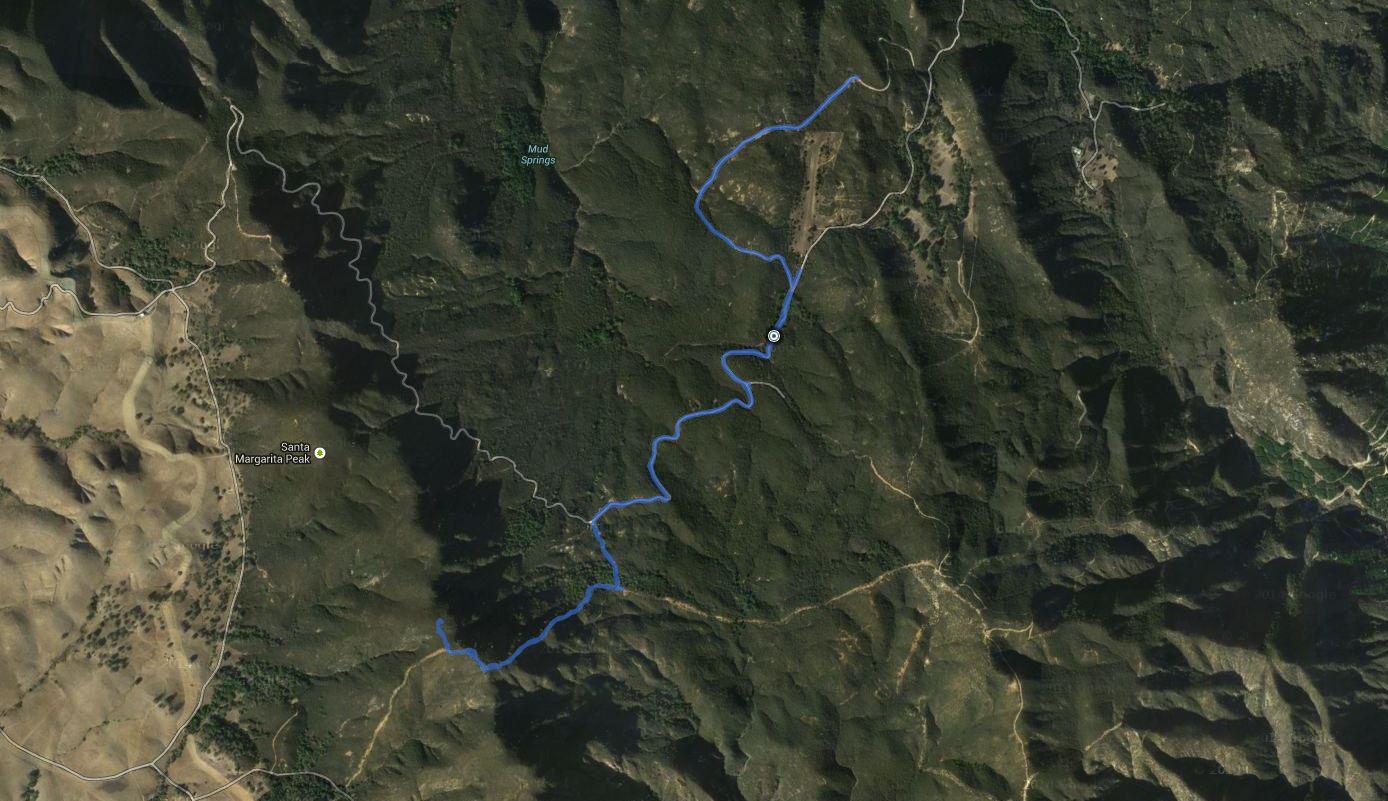Margarita Peak – GPS Track