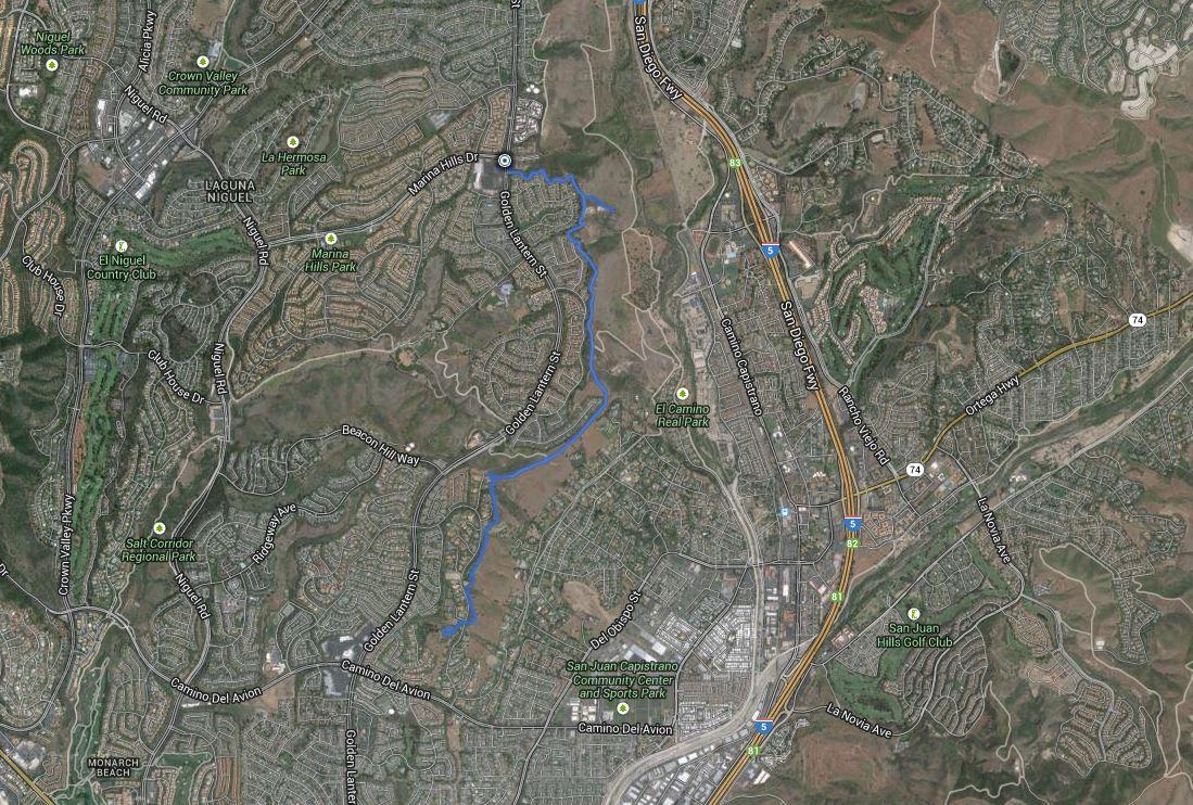 Colinas Bluff – GPS Track