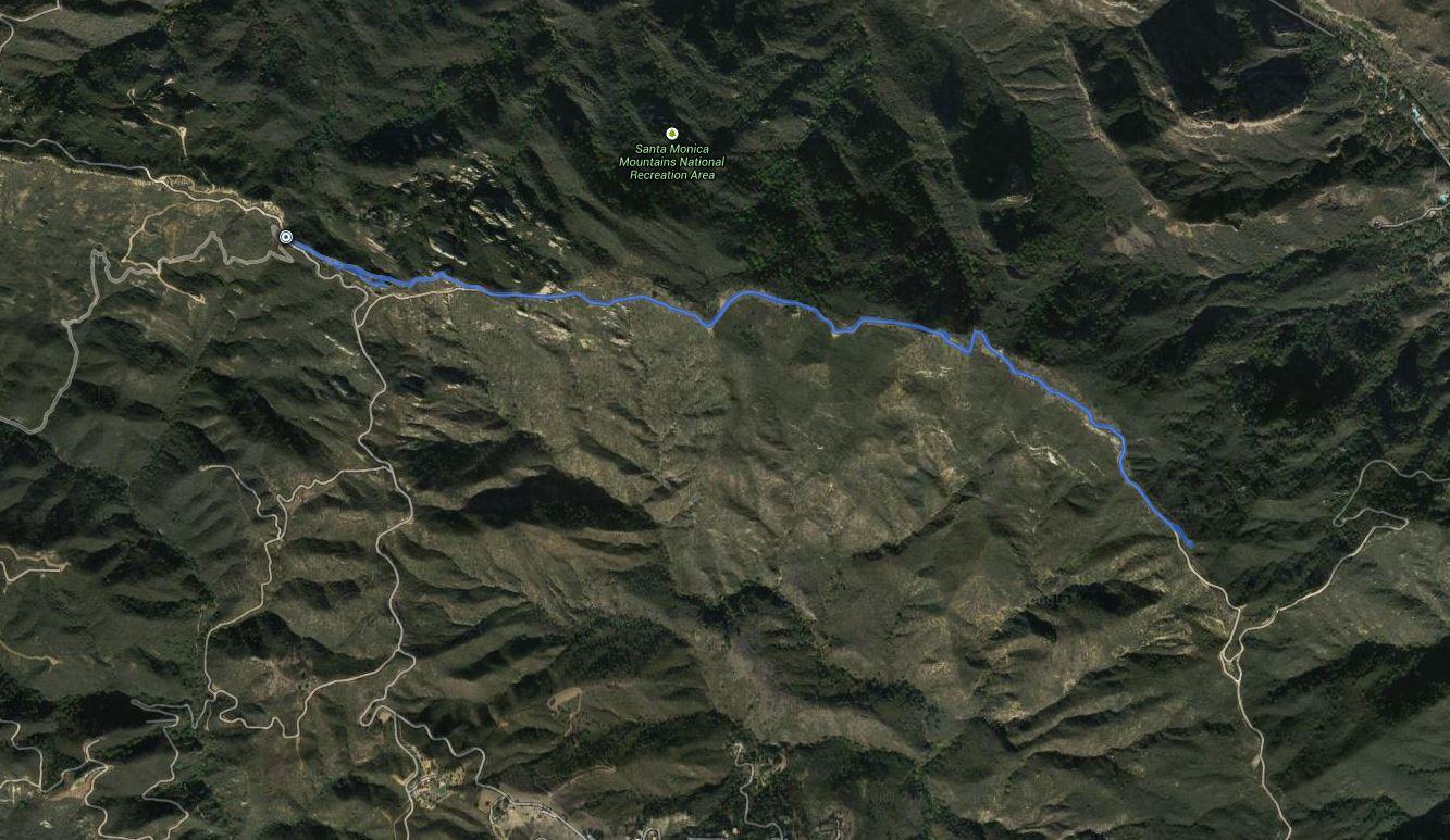 McAuley Peak – GPS Track