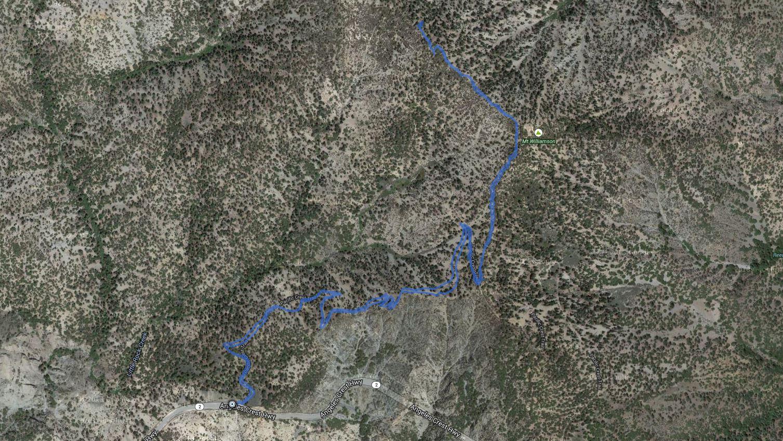 Mount Williamson (San Gabriel Mtns) – GPS Track
