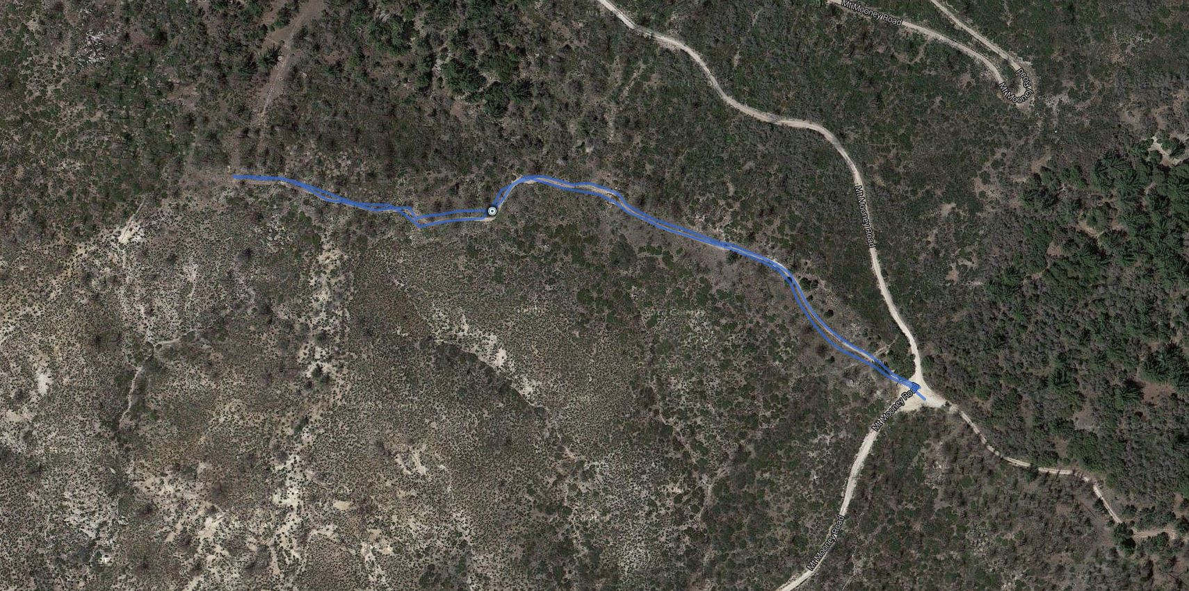 Mount Mooney – GPS Track