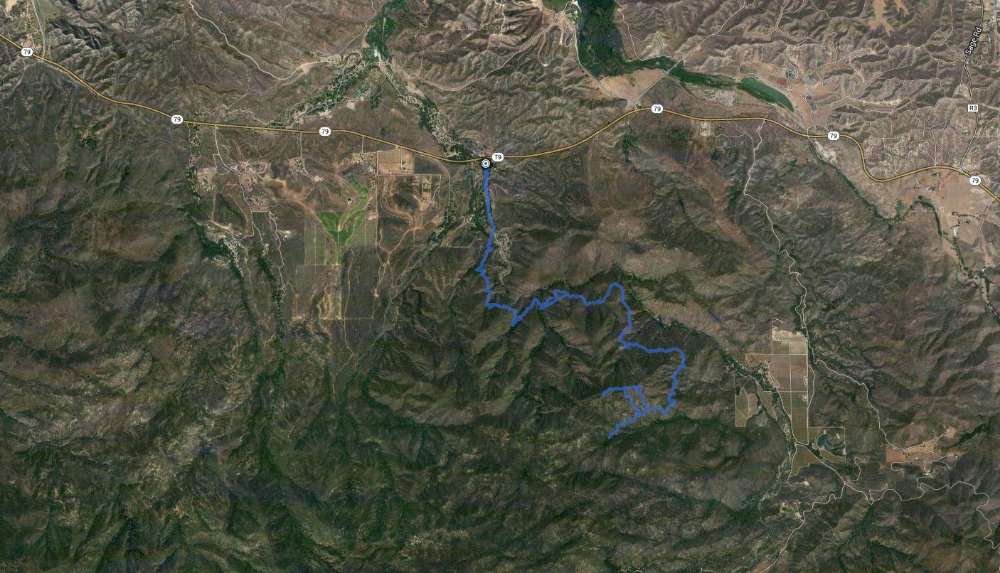 Wild Horse Peak – GPS Track