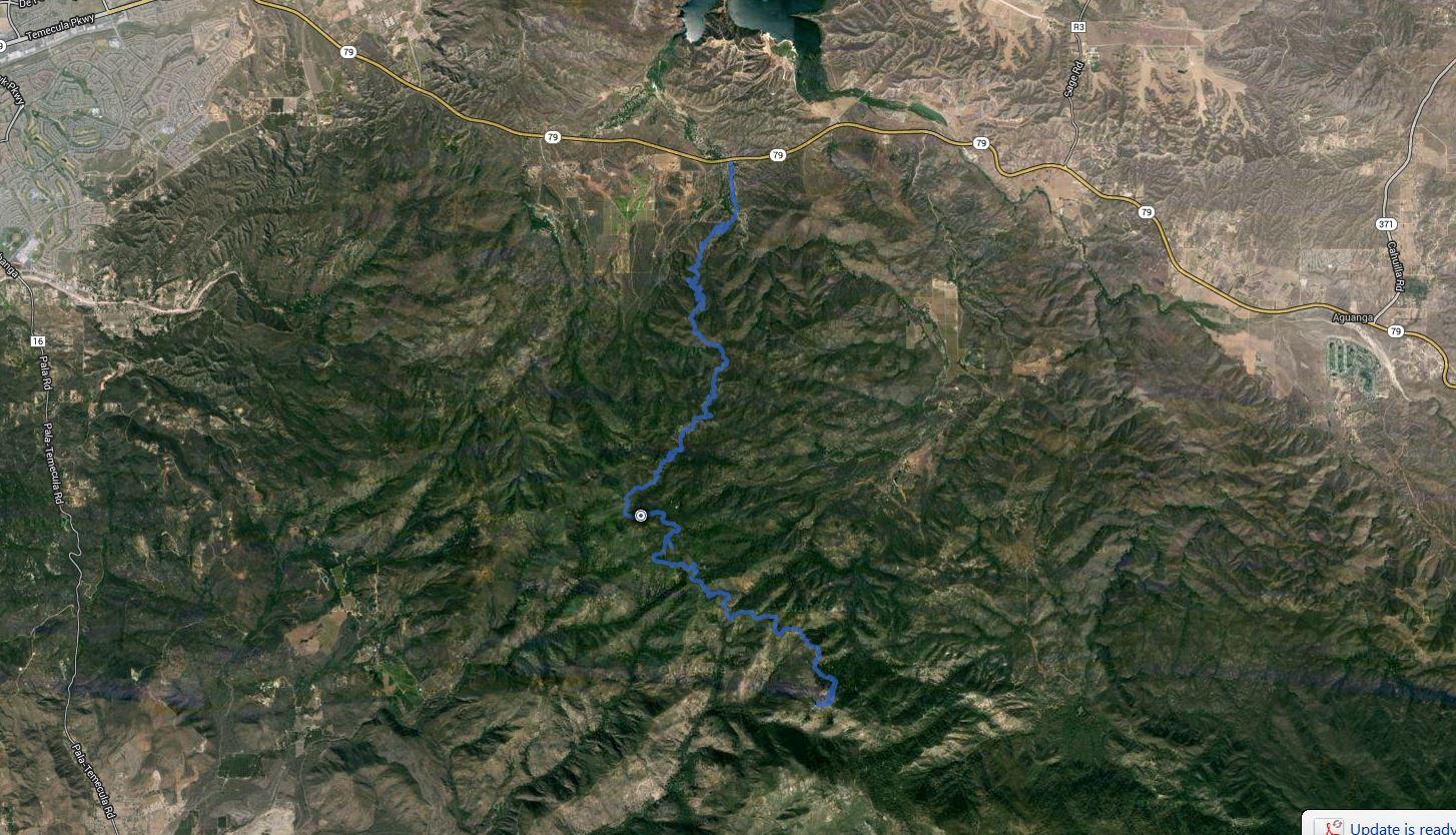 Agua Tibia Mtn, Eagle Crag – GPS Track