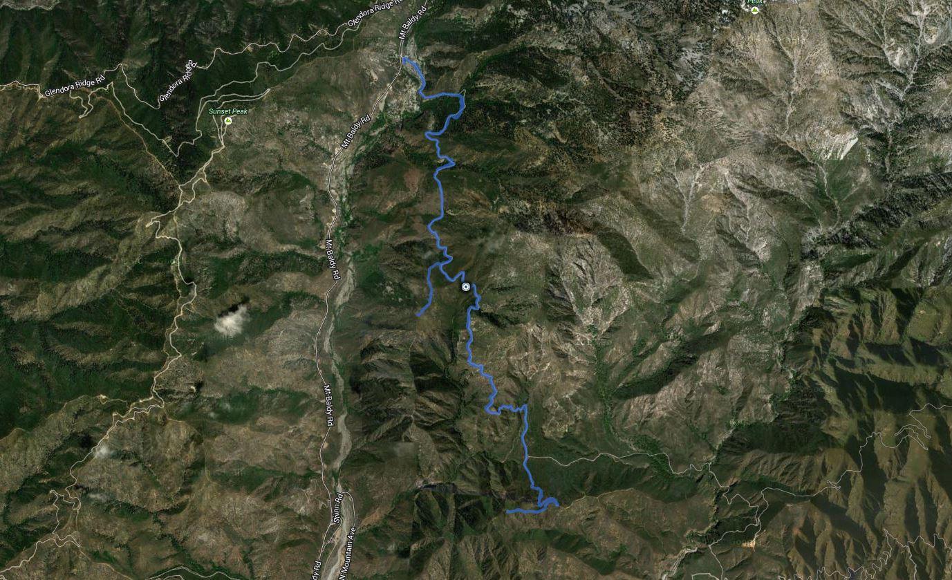 Frankish Peak, Stoddard Peak – GPS Track