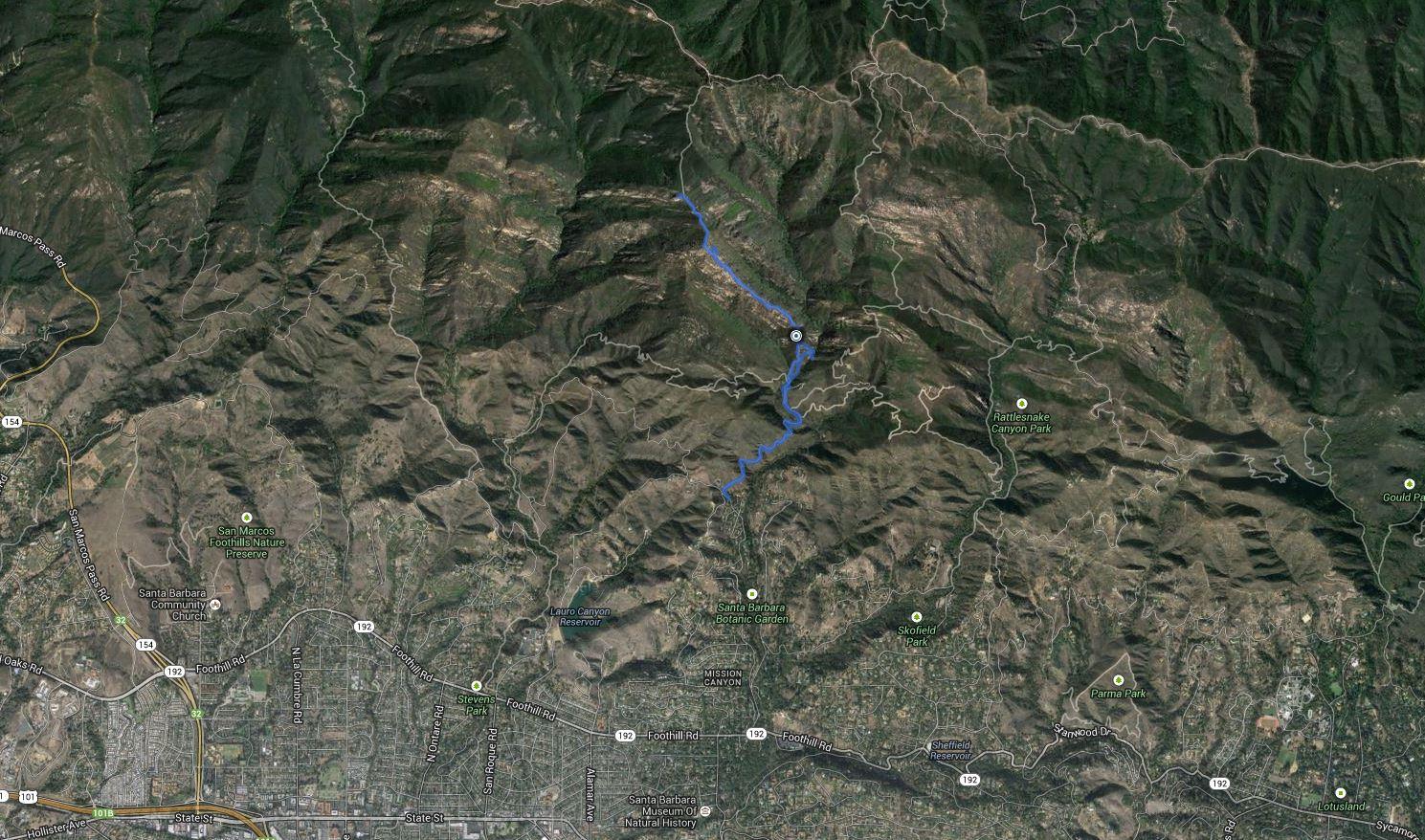 Cathedral Peak – GPS Track