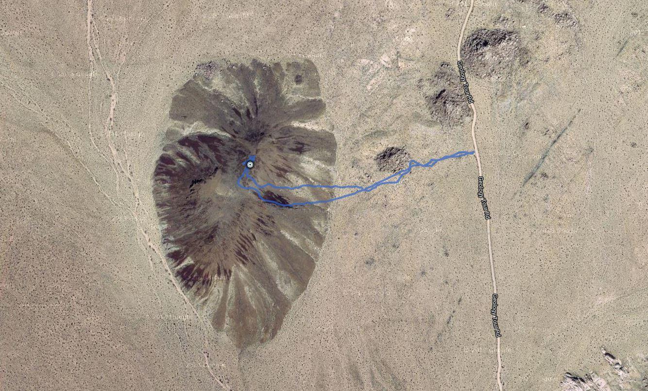Malapai Hill – GPS Track