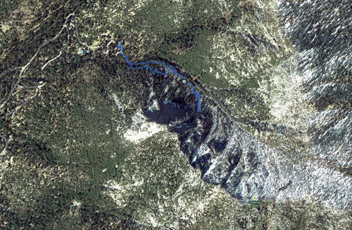 Tahquitz Rock – GPS Track