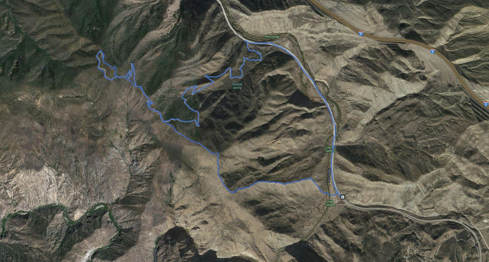 Slide Mountain Lookout – GPS Track