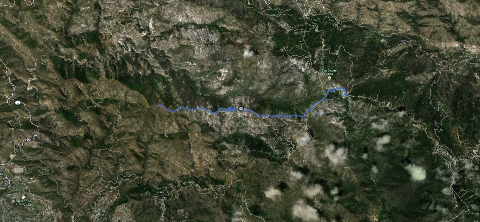 Brown Mountain – GPS Track