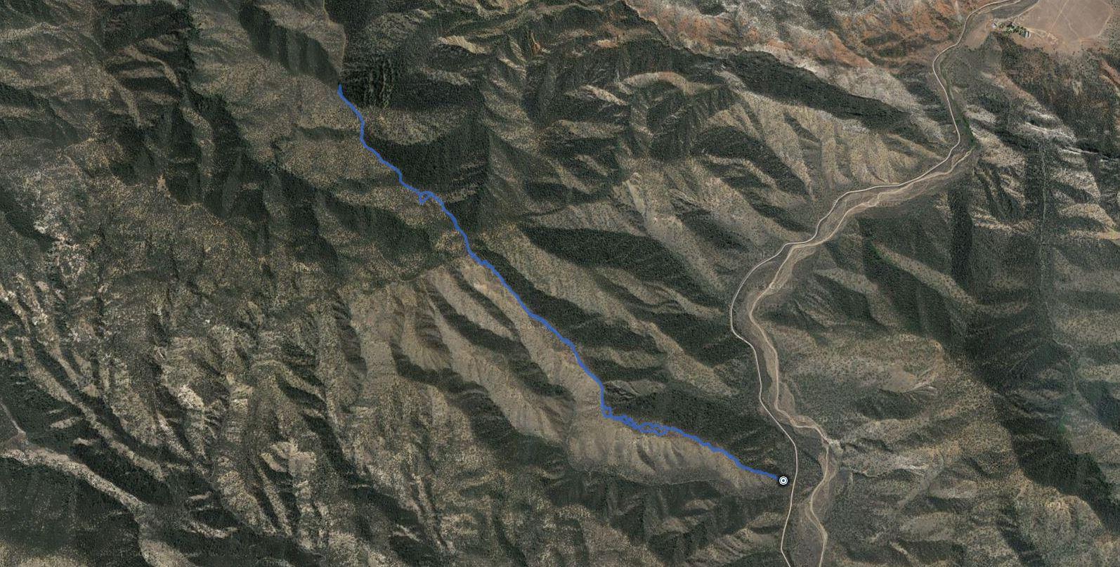 Fox Mountain – GPS Track