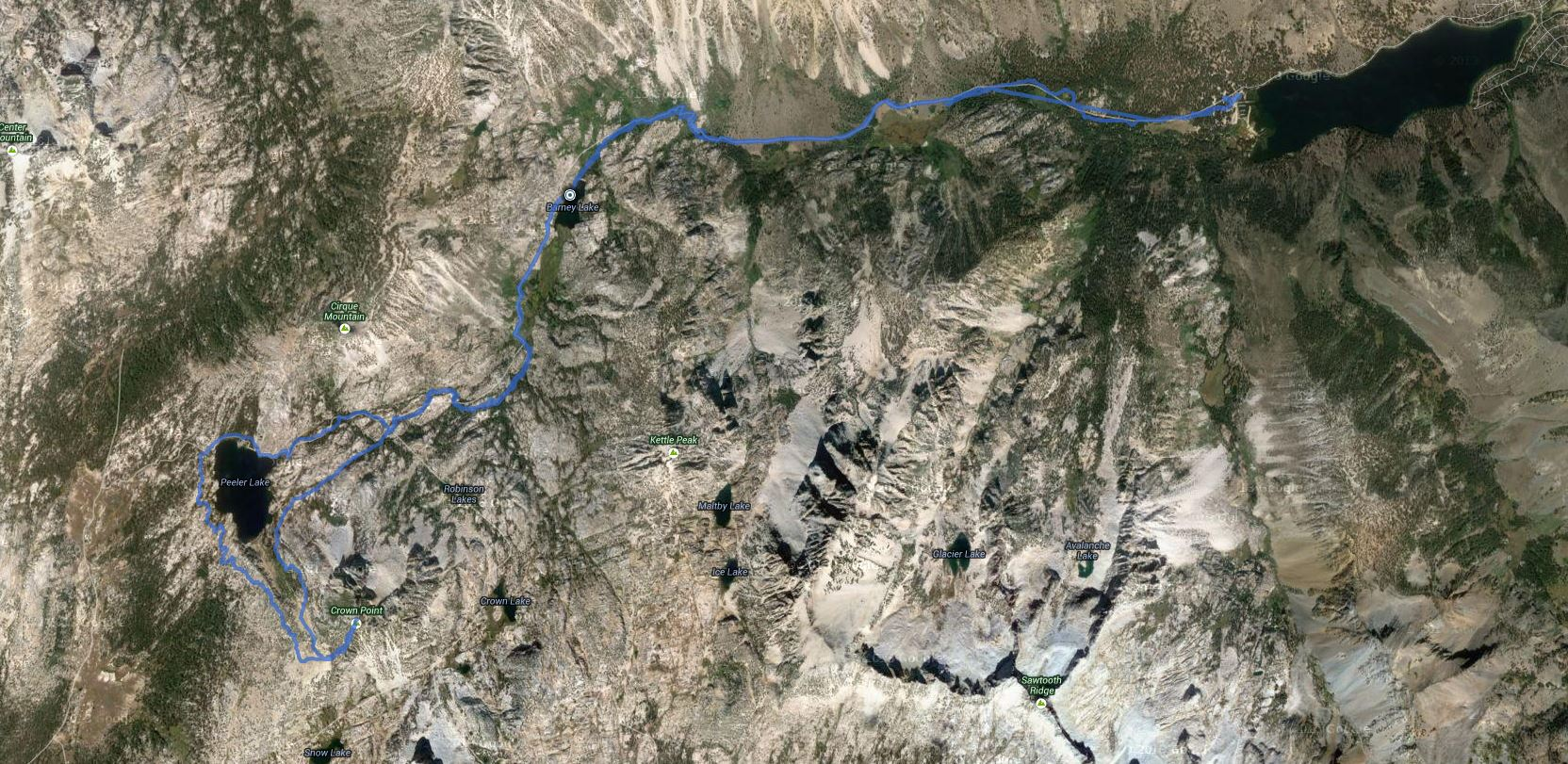 Crown Point – GPS Track