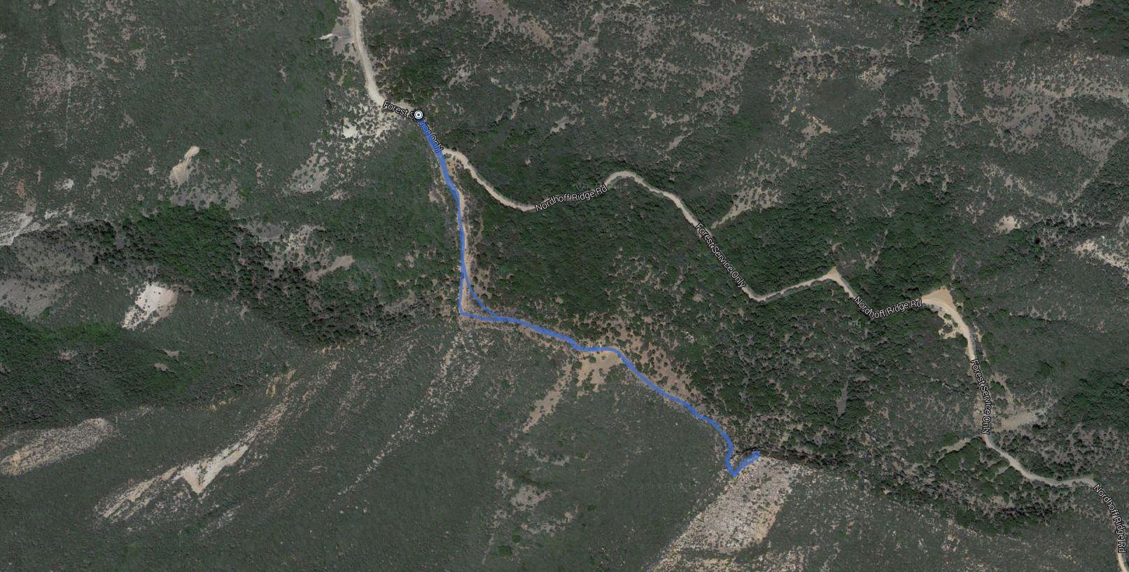 Chief Peak – GPS Track