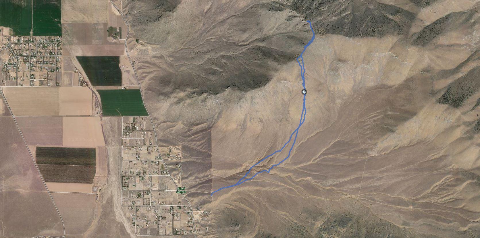 Onyx Peak – GPS Track