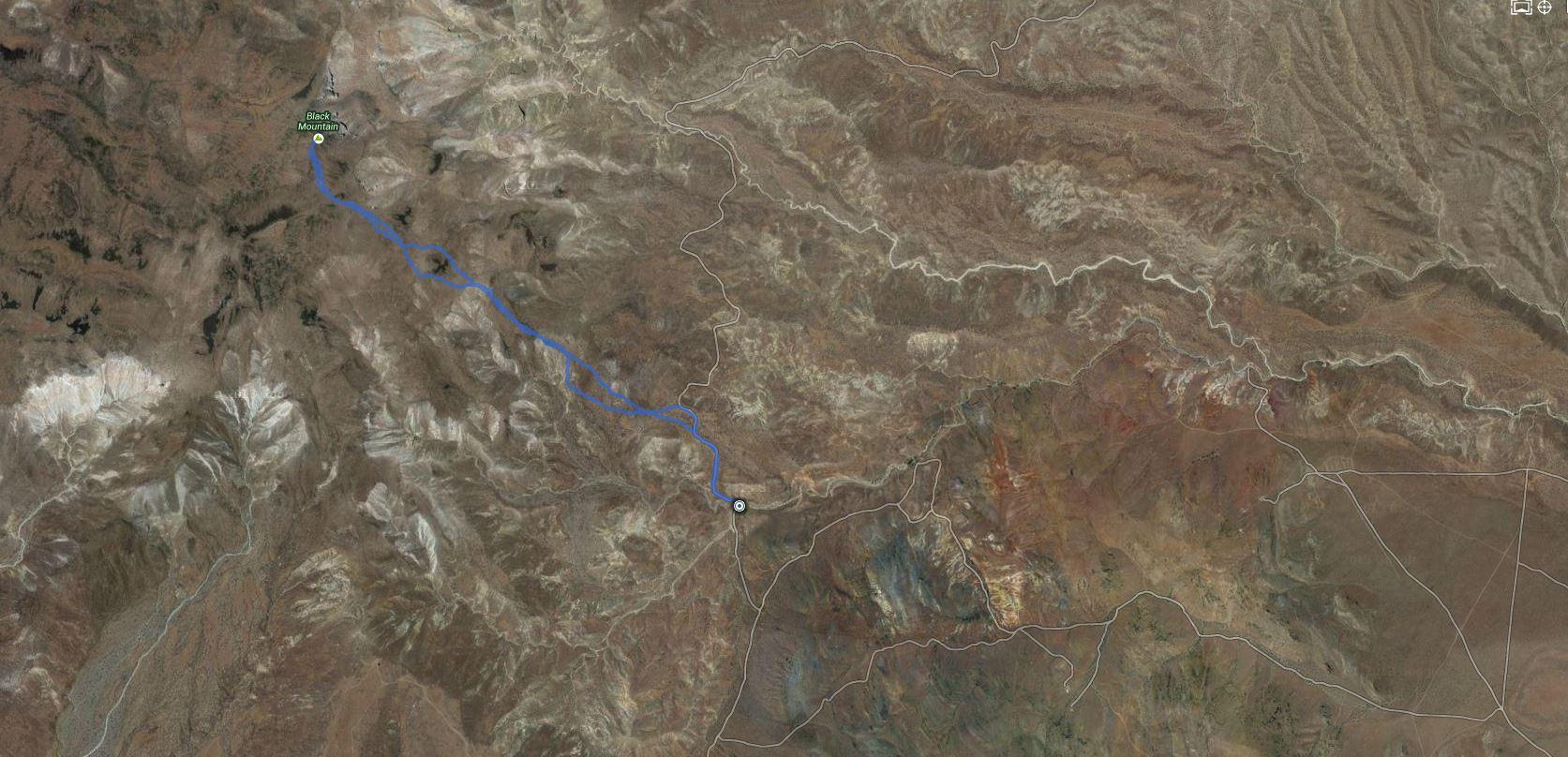 Black Mountain – GPS Track