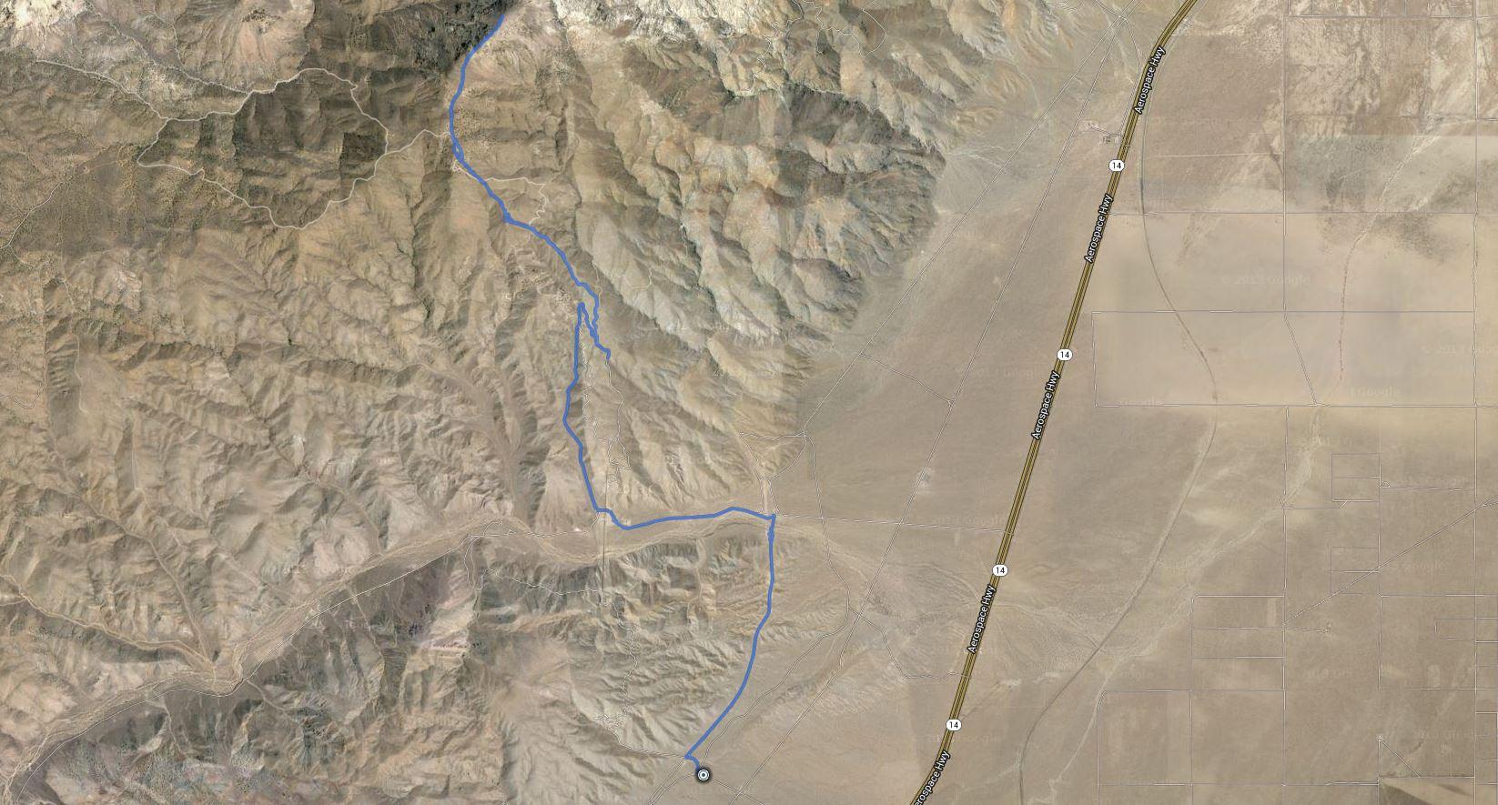 Chuckwalla Mountain – GPS Track