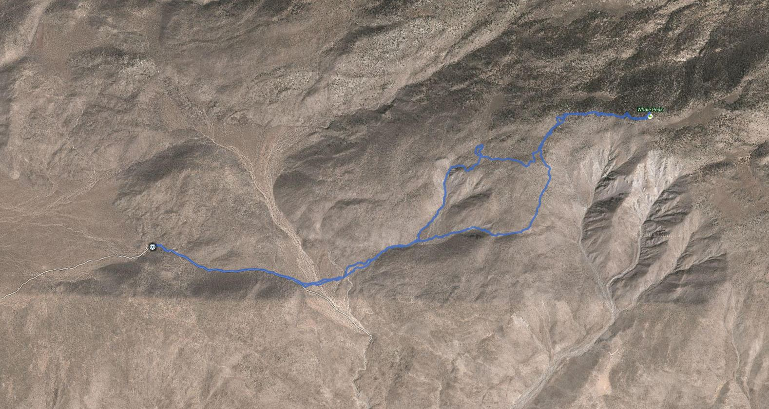 Whale Peak – GPS Track