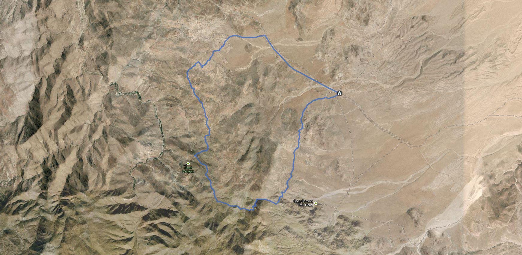 Constance Peak – GPS Track