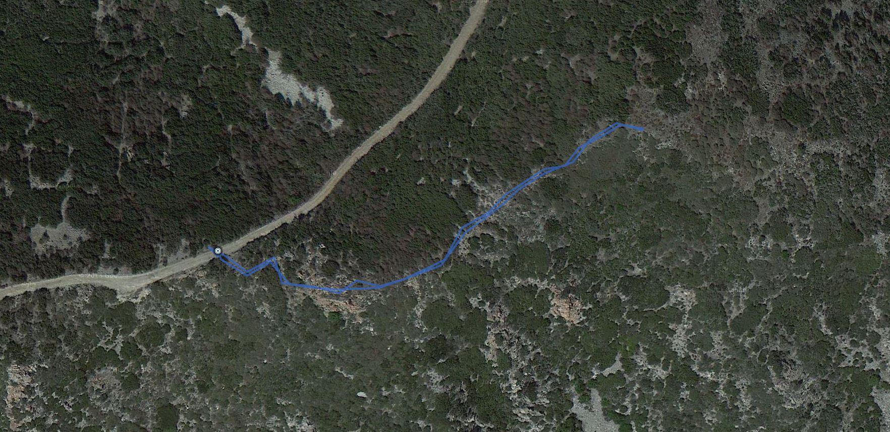 Cajon Mountain – GPS Track