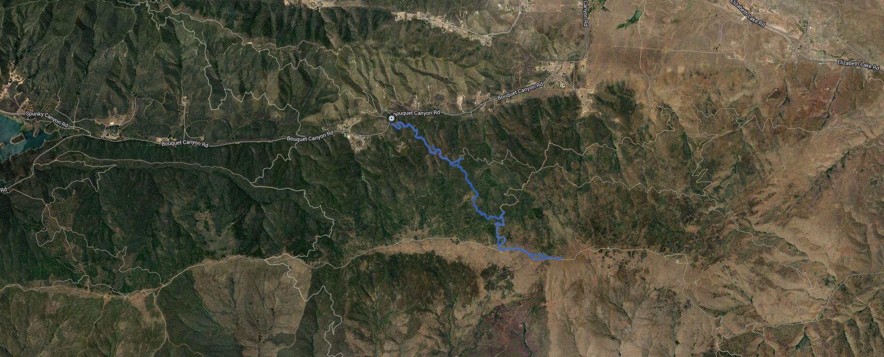 Mint Benchmark, Mount McDill – GPS Track