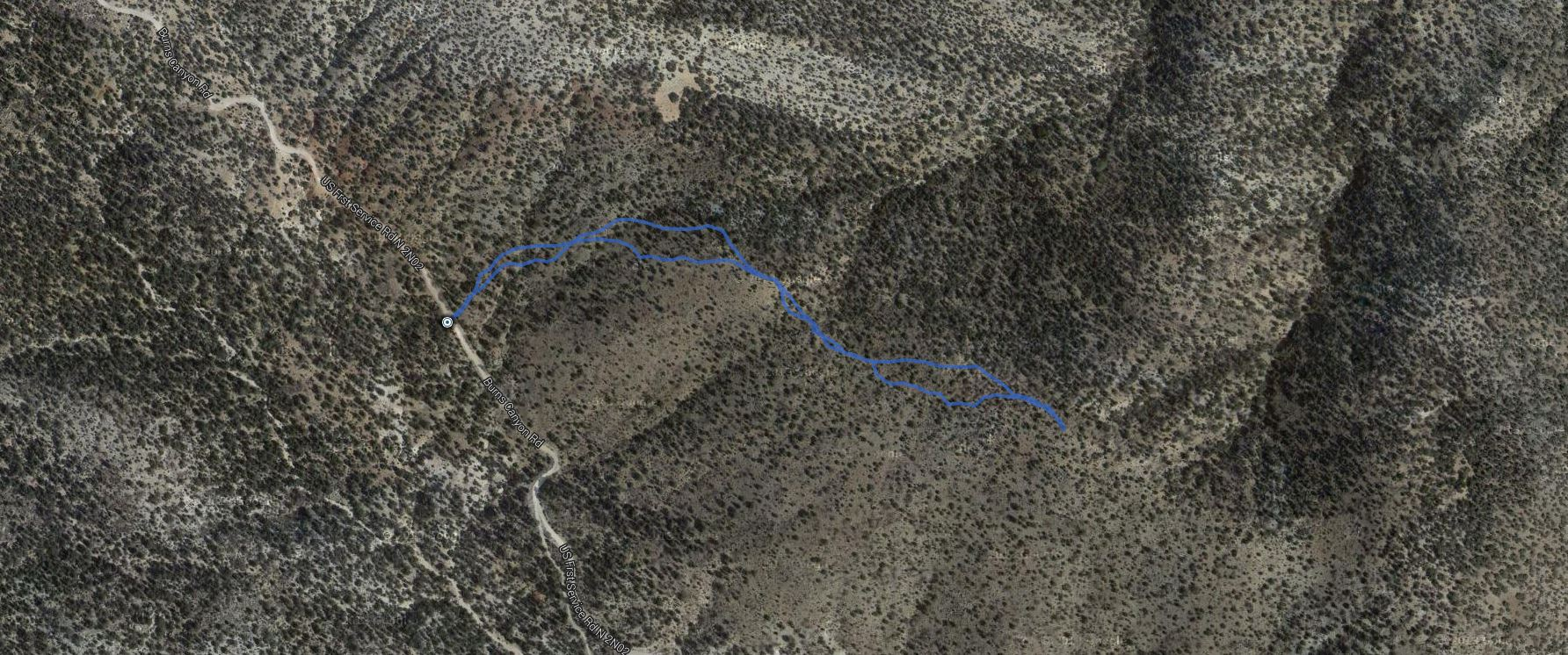 Mineral Mountain – GPS Track