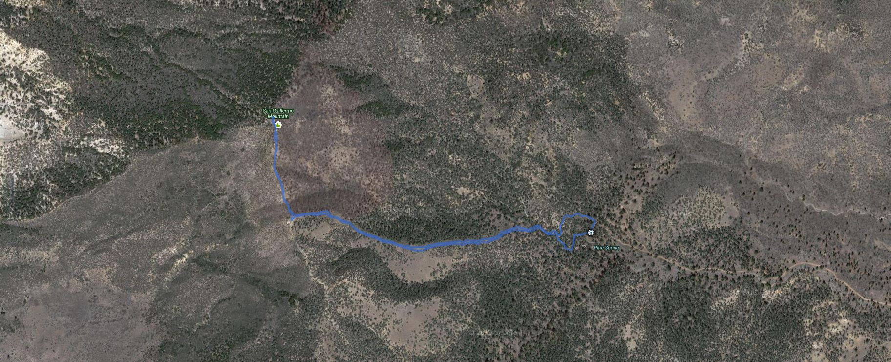 2014-09-20-SanGuillermoMountain
