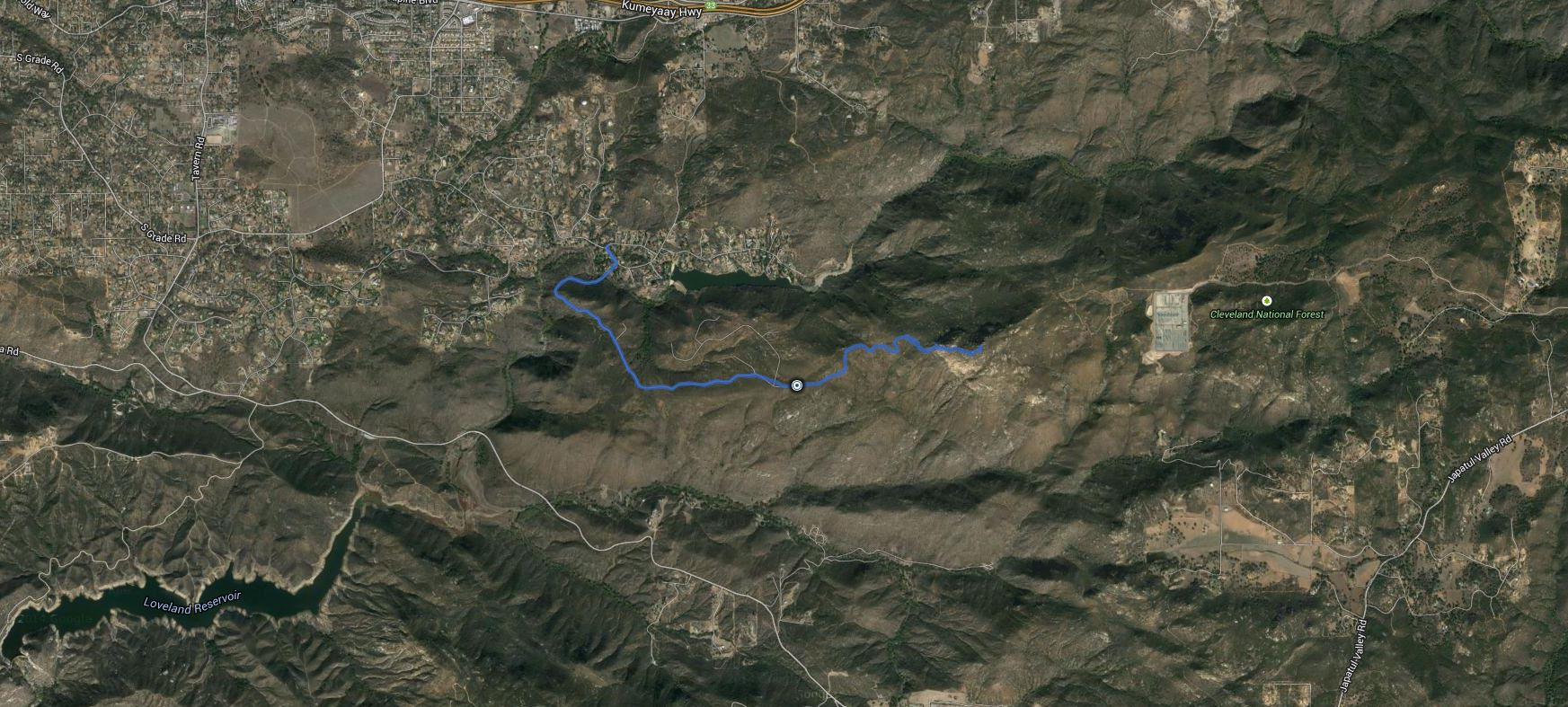 Bell Bluff – GPS Track
