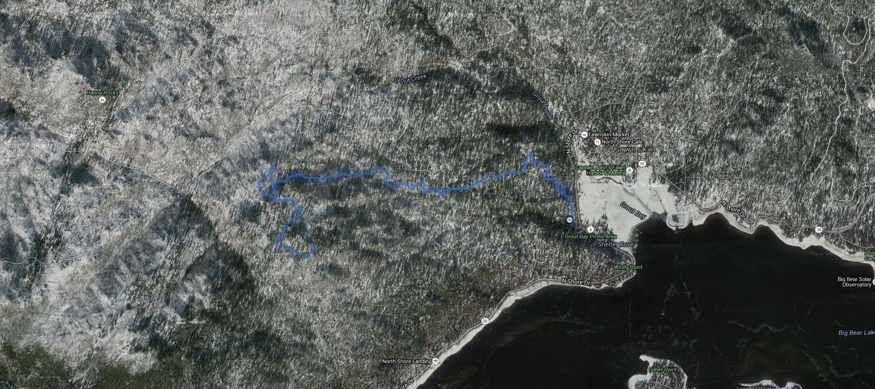 Grays Peak – GPS Track