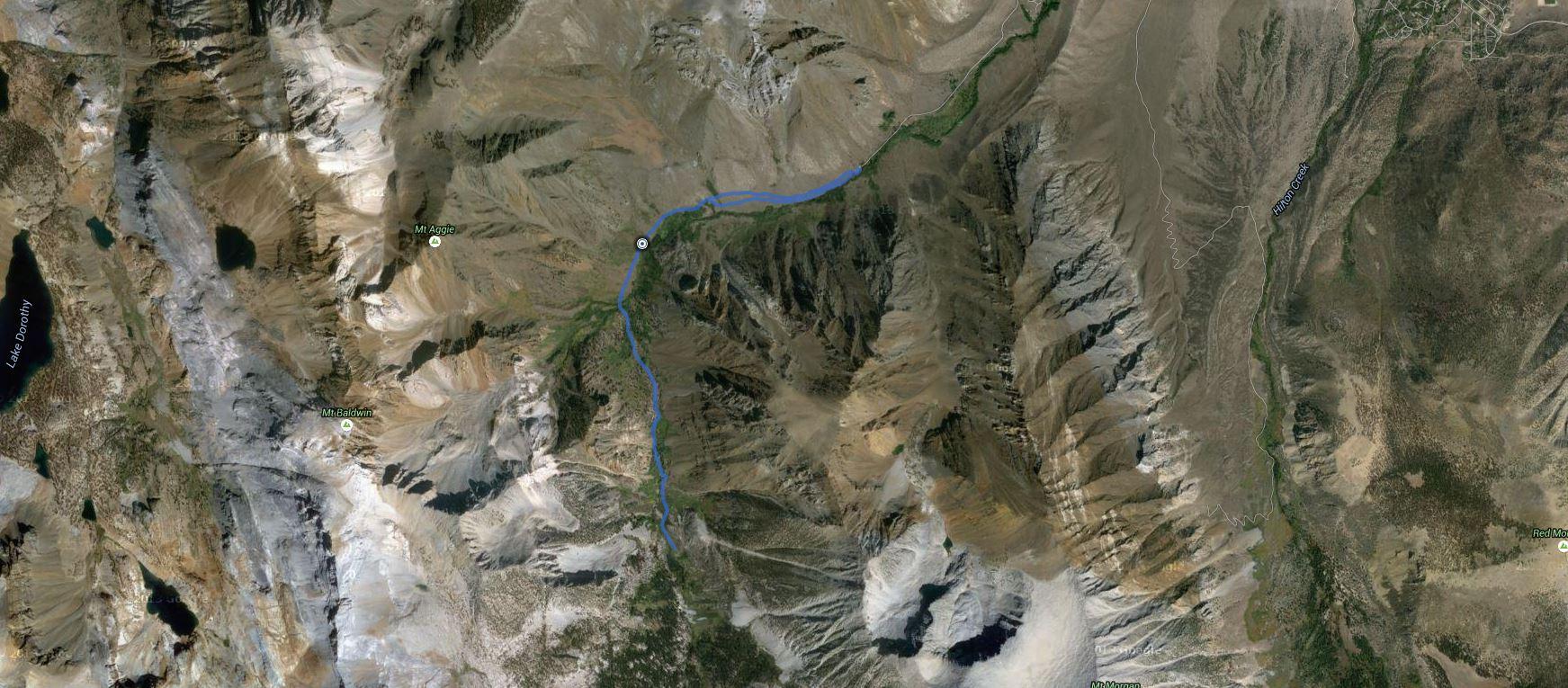 McGee Creek – GPS Track
