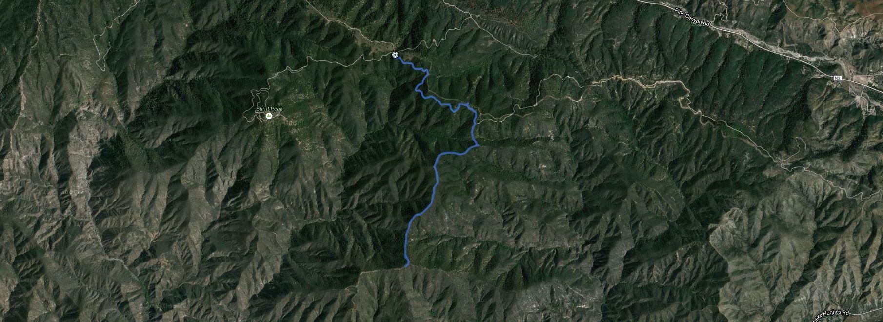 Sawtooth Mountain – GPS Track