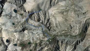Kearsarge Peak – GPS Track