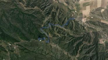 Palomar Mountain – GPS Track