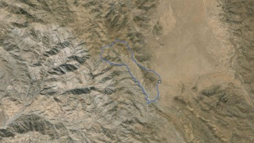 Bernard Peak, Little Berdoo Peak – GPS Track