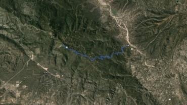 Thomas Mountain – GPS Track