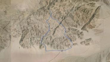 Peak 3740, Anschutz Benchmark – GPS Track