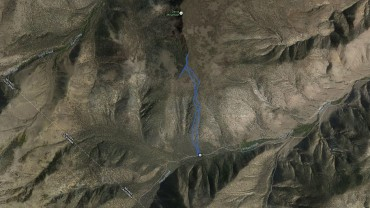 Davis Mountain – GPS Track