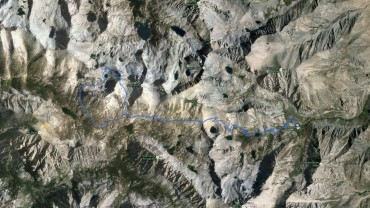 Glacier Spike – GPS Track