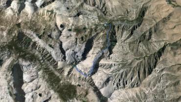 University Peak – GPS Track